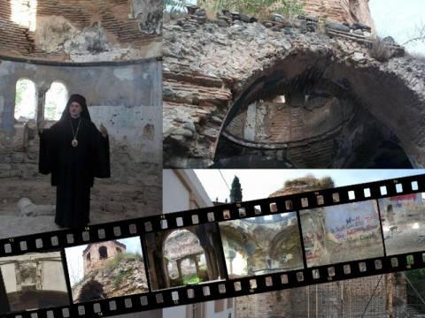 Ο Βαρθολομαίος έσωσε βυζαντινή εκκλησία στα Μουδανιά