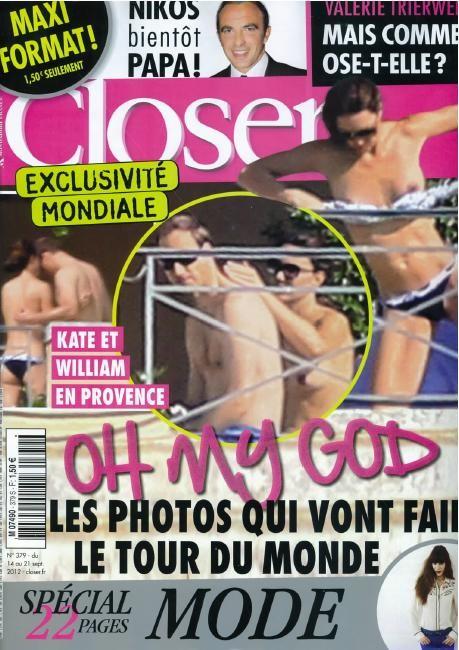 Η Kate Middleton γυμνή σε γαλλικό περιοδικό!
