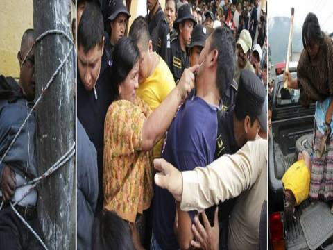 Γουατεμάλα: Εκαψαν ζωντανό το δολοφόνο δύο παιδιών