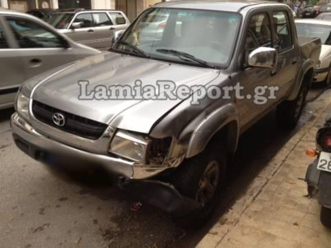 Μεθυσμένος οδηγός σκόρπισε τον πανικό στη Λαμία (pics)