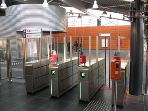 Μπάρες στο μετρό για να αποφευχθεί η εισιτηριοδιαφυγή