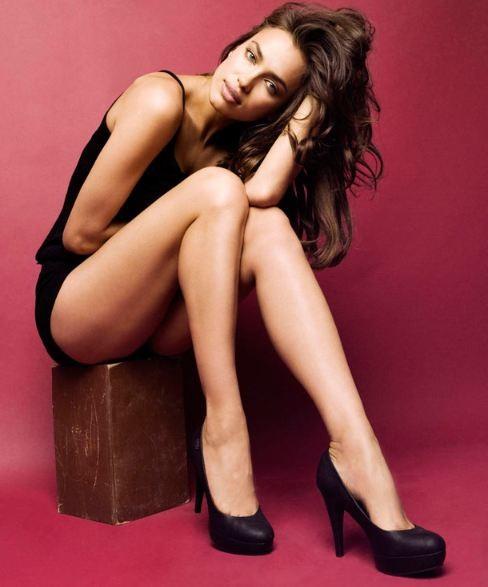 Τα ατέλειωτα πόδια της Irina Shayk