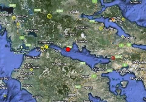 Σεισμός 3,4 Ρίχτερ στο Γαλαξίδι