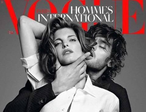 Σάλος με το νέο εξώφυλλο του Vogue Hommes International