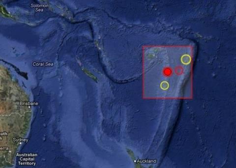 Σεισμός 5,7 Ρίχτερ στα Φίτζι