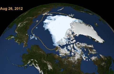 Αρκτική: Οι πάγοι μειώνονται δραματικά σύμφωνα με τους επιστήμονες