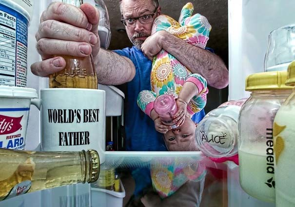 Πατέρας και κόρη σε απίθανες φωτογραφίες!