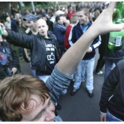 Ολλανδία: Τελικά το πάρτι κατέληξε σε επεισόδια