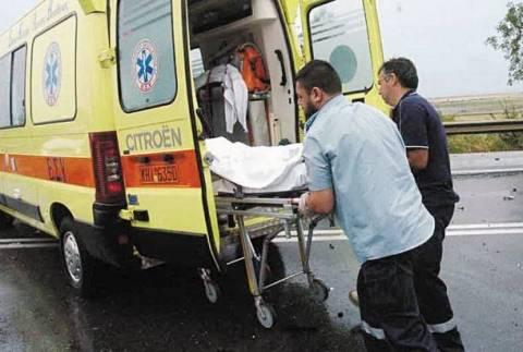 Θανατηφόρο τροχαίο στα Ψαχνά Ευβοίας: Φορτηγό παρέσυρε δικυκλιστή