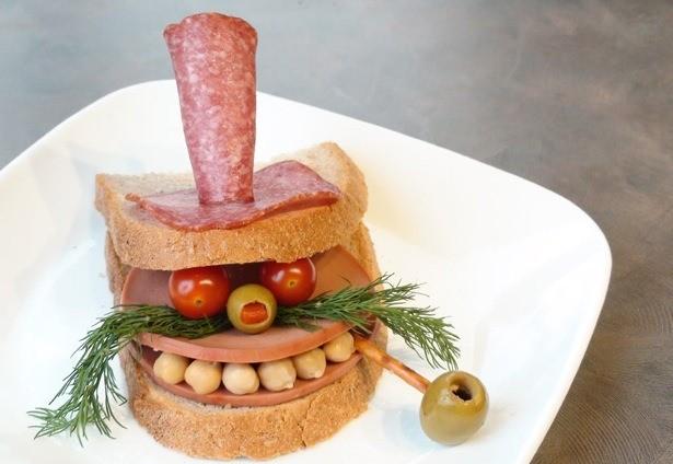 Τέχνη πάνω σε... σάντουιτς! (pics)