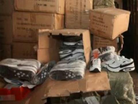 Αποθήκη με προϊόντα - «μαΐμου» στου Ρέντη