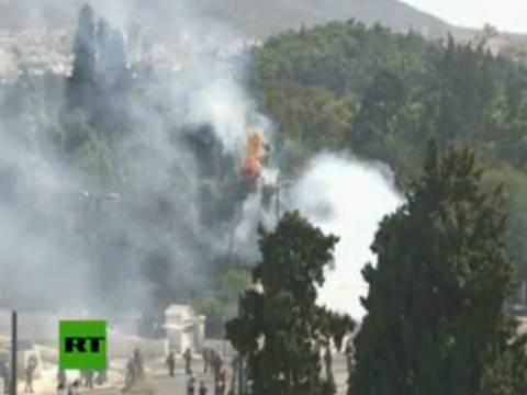 ΤΩΡΑ: Φωτιά στον Εθνικό Κήπο (φωτό)