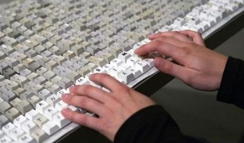 Tο μεγαλύτερο πληκτρολόγιο στον κόσμο (pics)