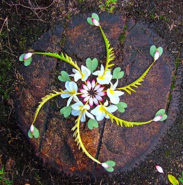 Εντυπωσιακές γιρλάντες με υλικά της φύσης! (pics)