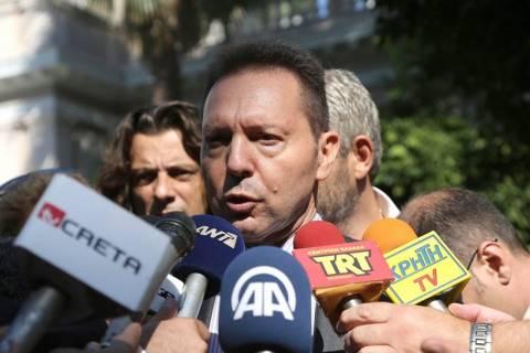 Στουρνάρας: Βάση δυνατής διαπραγμάτευσης η συμφωνία των αρχηγών