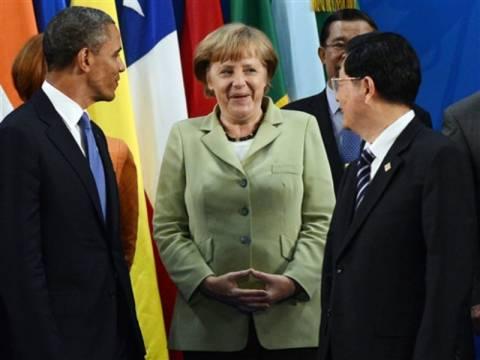 FT Γερμανίας: Ομπάμα, Τζιαμπάο, Μέρκελ κρατούν την Ελλάδα στο ευρώ