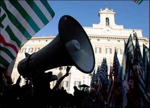 Απεργιακές κινητοποιήσεις στην Ιταλία