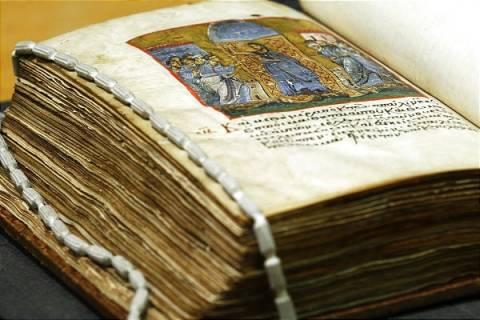 Σπάνια χειρόγραφα από τον 8ο αι. της Μονής Βατοπαιδίου