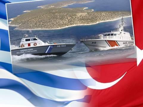 Σκηνικό Ιμίων στήνουν οι Τούρκοι στο Αιγαίο
