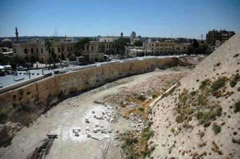 Σήμα κινδύνου από την UNESCO για τα αρχαία μνημεία στο Χαλέπι