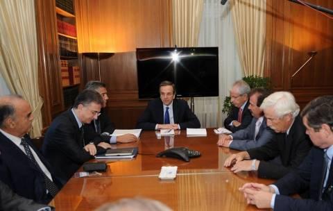 Συνάντηση Α. Σαμαρά με την Ένωση Εφοπλιστών