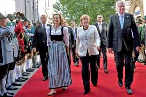 Η Μέρκελ στο Μόναχο για την επέτειο επανένωσης της Γερμανίας