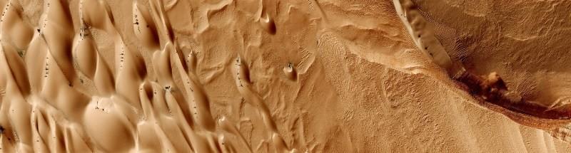 Μυστήριο: «Αράχνες» στην επιφάνεια του Κόκκινου Πλανήτη