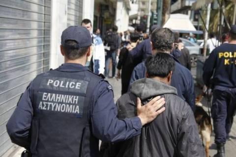 Σε εξέλιξη επιχείρηση «σκούπα» στο κέντρο της Αθήνας