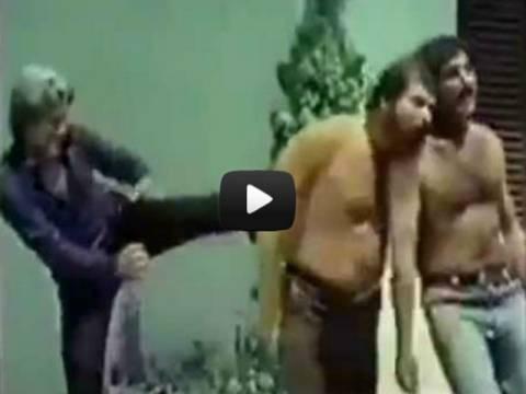 Ξεκαρδιστικό βίντεο: Ο... Τούρκος ξάδερφος του Τσακ Νόρις!