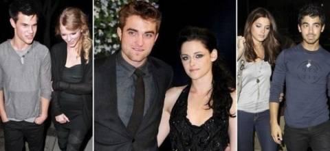 Αυτοί είναι οι έρωτες των πρωταγωνιστών του Twilight!