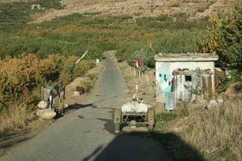 Ανταλλαγή πυρών στα σύνορα Συρίας-Λιβάνου