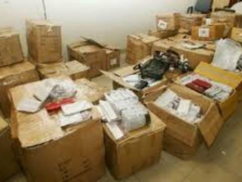 Κατάσχεση τσιγάρων και προϊόντων - «μαΐμου» στον Ασπρόπυργο