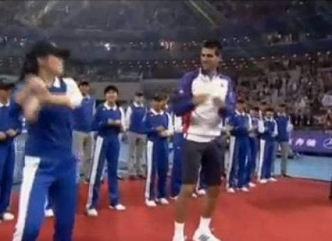Βίντεο: Και ο Τζόκοβιτς χορεύει «Gangnam style»