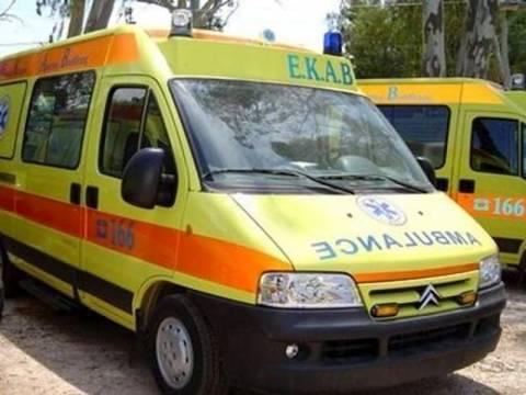 Ηλικιωμένη αλλοδαπή τραυματίστηκε σε τροχαίο στη Μύκονο