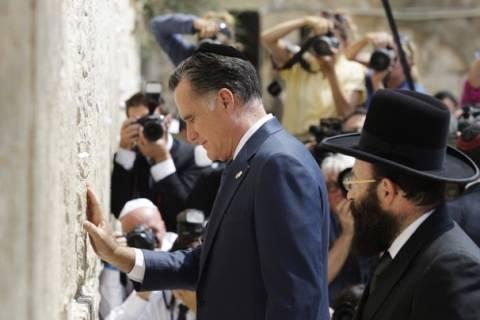 «Καλοπιάνει» το Ισραήλ ο Ρόμνεϊ