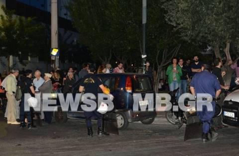 Διαμαρτυρία έξω από το «Χυτήριο» - Επί ποδός αστυνομικές δυνάμεις