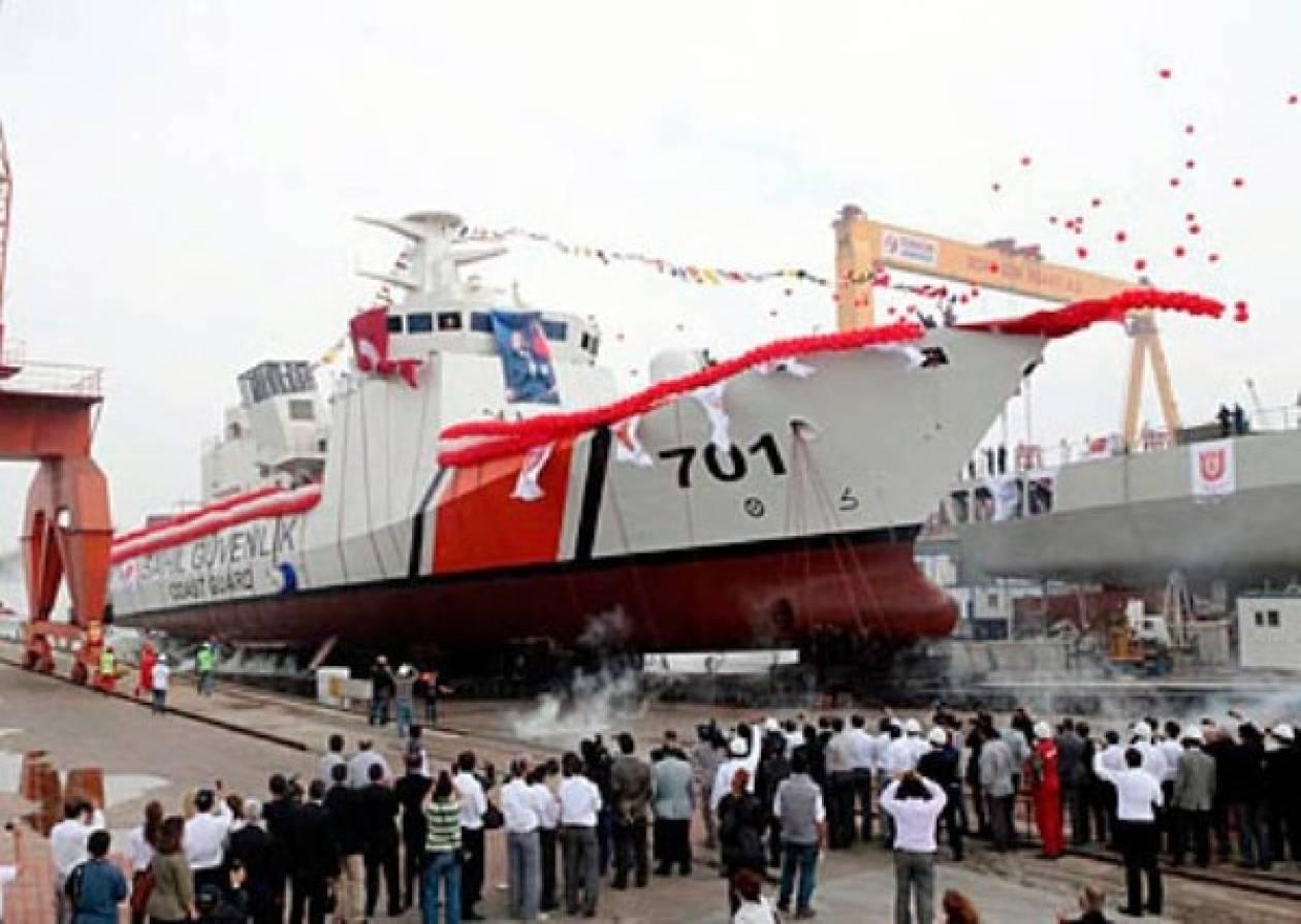 Στόλο «τέρας» ετοιμάζει η Τουρκία για το Αιγαίο