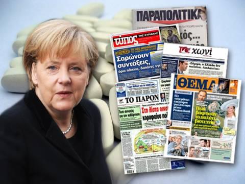 Σύσσωμος ο Τύπος κατά της Μέρκελ για τα ανώνυμα γενόσημα