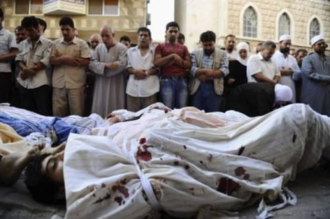 Εκατόμβη θυμάτων στη Δαμασκό