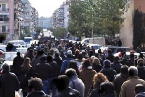 Κυκλοφοριακό χάος στη Θεσσαλονίκη από ταυτόχρονες πορείες
