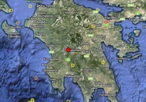 Σεισμός 3,2 Ρίχτερ στη κεντρική Πελοπόννησο
