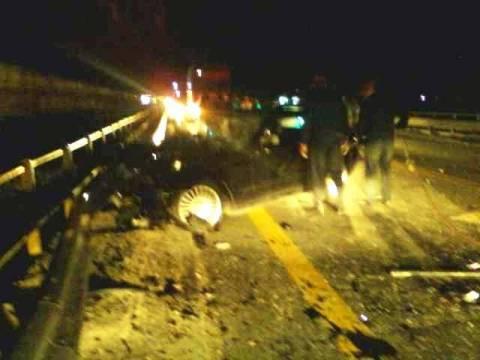 Τροχαίο ατύχημα στην Λ. Κηφισού