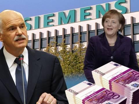 Οι διορισμένοι του Παπανδρέου δίνουν έργο στη Siemens με εντολή Μέρκελ