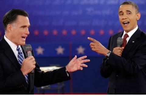 Αναμέτρηση Ομπάμα-Ρόμνεϊ για την εξωτερική πολιτική των ΗΠΑ