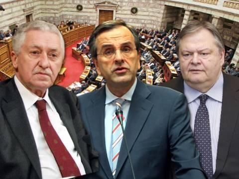 Η κρισιμότερη σύσκεψη των πολιτικών αρχηγών