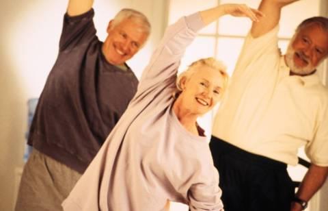 Η σωματική άσκηση στην τρίτη ηλικία επιβραδύνει την άνοια