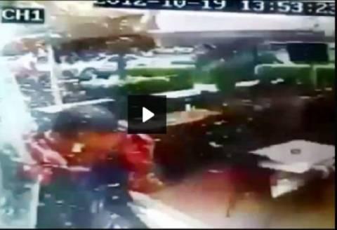 Η στιγμή της φονικής έκρηξης στη Βηρυτό σε βίντεο