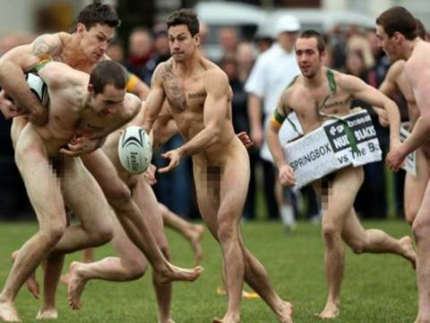 Χαμός στο διαδίκτυο με τους γυμνούς αθλητές! (pics)