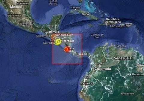 Σεισμός 6,5 Ρίχτερ στη Κόστα Ρίκα
