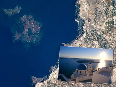 Υπό 24ωρη παρακολούθηση το ηφαίστειο της Σαντορίνης